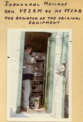 The first FM repeater in 1967
