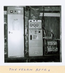 The equipment in 1972